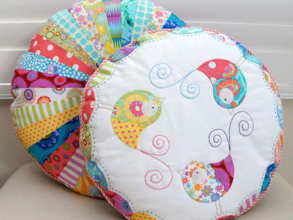 Декоративные подушки для создания уюта в детской комнате: идеи для творческих мам | Ярмарка Мастеров - ручная работа, handmade