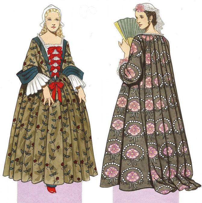 история костюма, одежда для барби