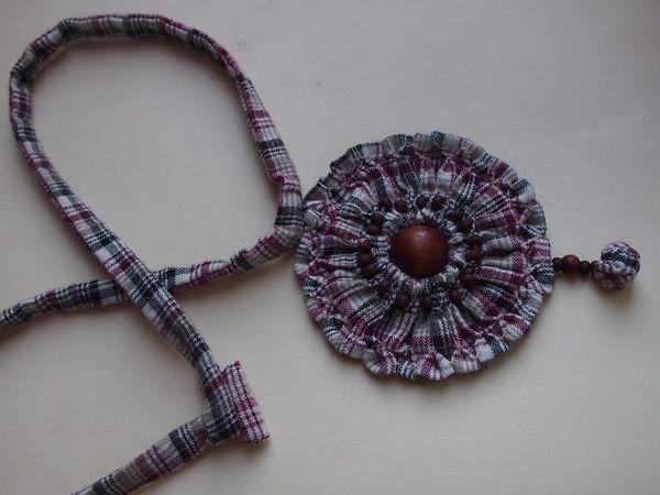 Текстильное украшение. | Ярмарка Мастеров - ручная работа, handmade