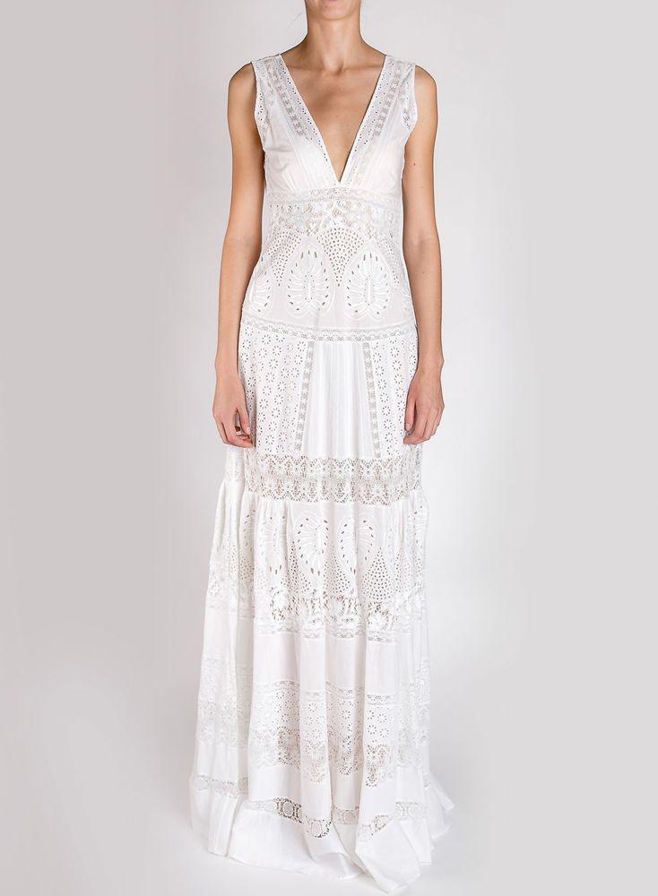 Белое бохо, или Шикарная одежда для королевы летнего пляжа, фото № 68
