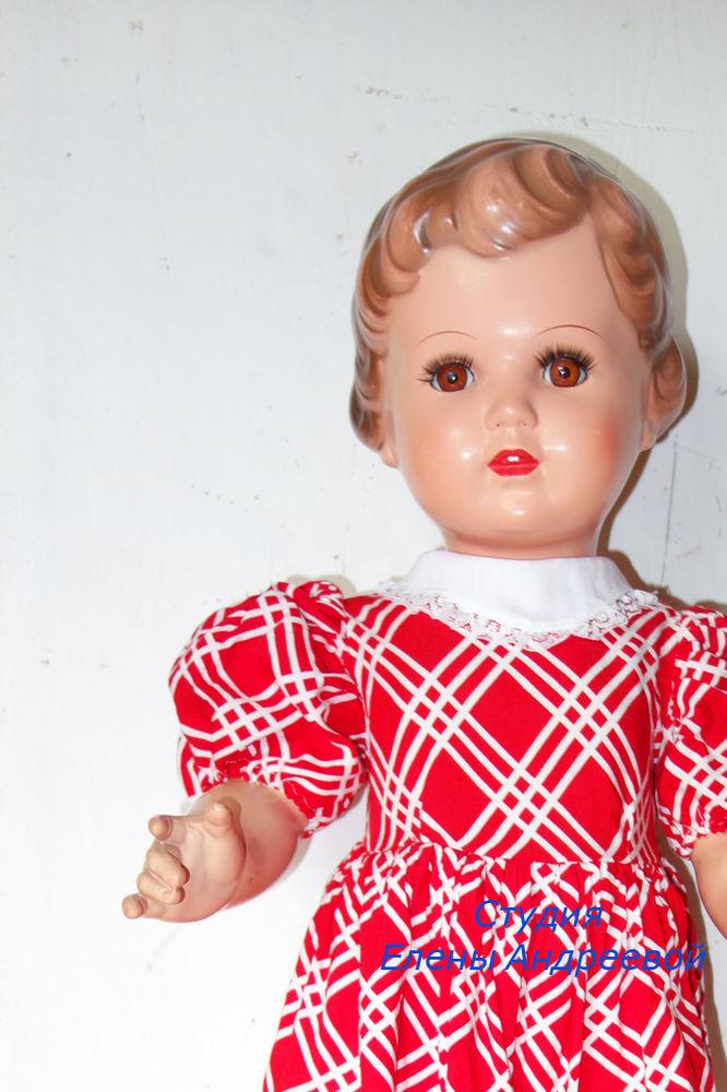 заделать трещину у куклы