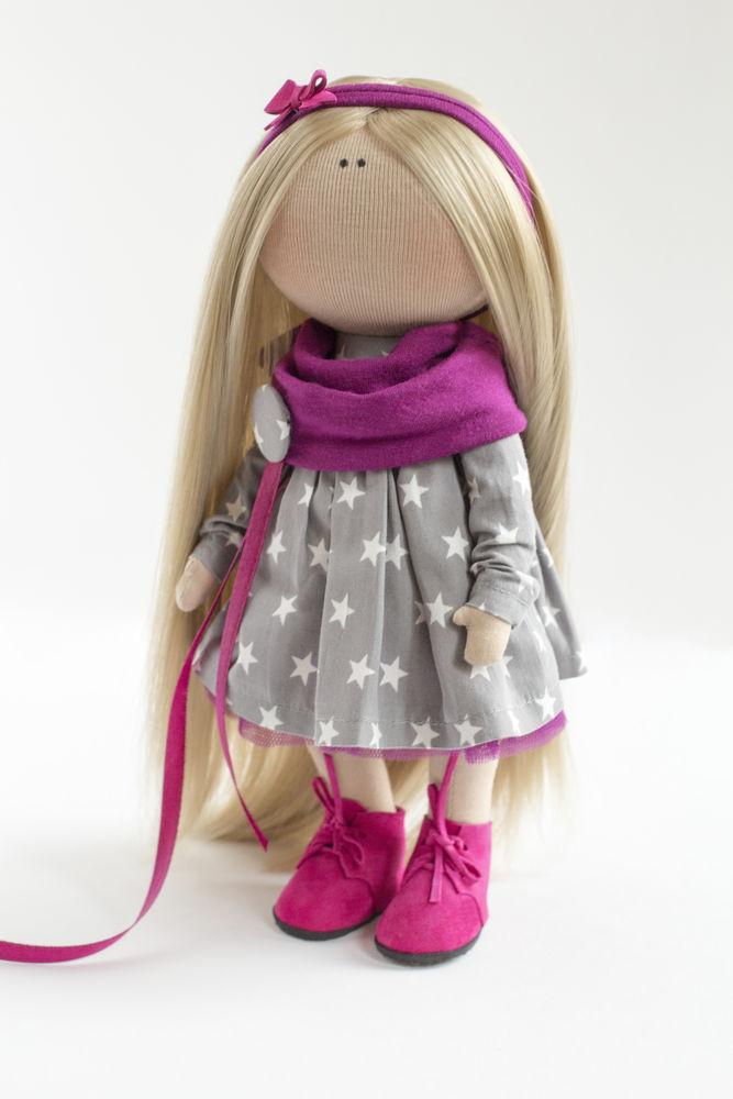 интерьерная игрушка, портретная кукла, швейная машинка, интерьер, кукла тыквоголовка