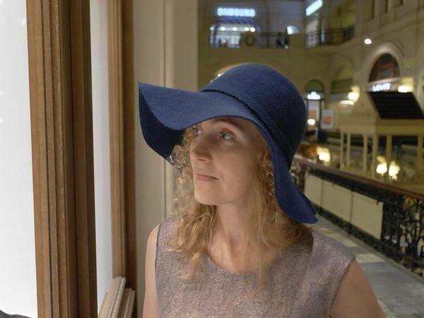 Валяная шляпа, 29 октября, Москва, Шерсти клок. | Ярмарка Мастеров - ручная работа, handmade