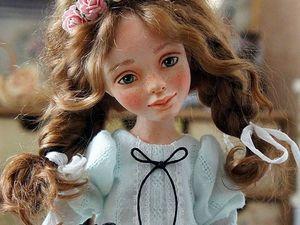 Варенька. Видео куколки | Ярмарка Мастеров - ручная работа, handmade