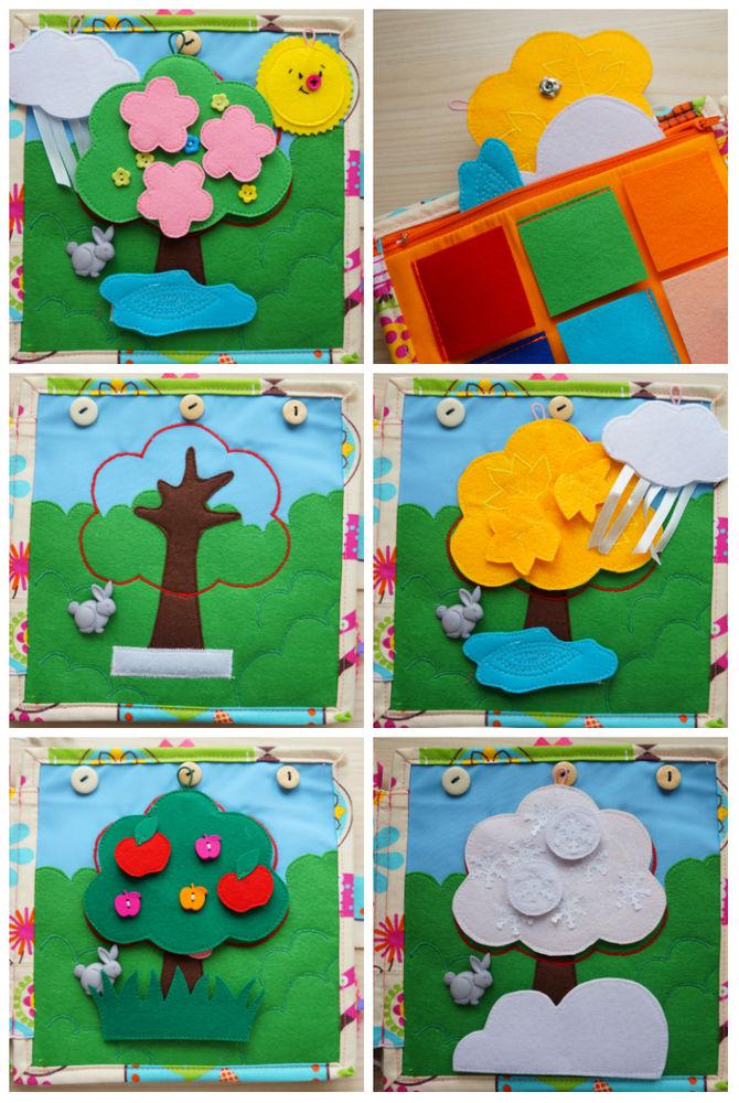 развивающая книжка, развитие ребенка, подарок ребёнку