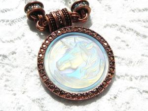Видео. Ожерелье Единорог, Kirks Folly, США. Ярмарка Мастеров - ручная работа, handmade.