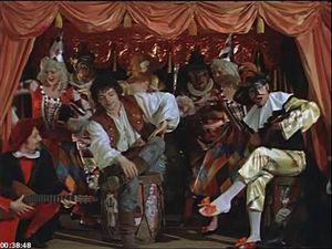 Яркие герои комедий дель арте в живописи, или Оставляем себе частичку веселья праздничных дней. Ярмарка Мастеров - ручная работа, handmade.