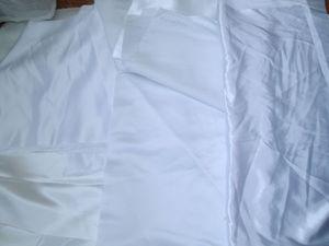 Отдам лоскуты белых тканей: атлас, сатен, габардин, шифон и пр. Самовывоз Москва, Митино. | Ярмарка Мастеров - ручная работа, handmade
