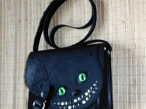 Котик с глазками ..)) | Ярмарка Мастеров - ручная работа, handmade