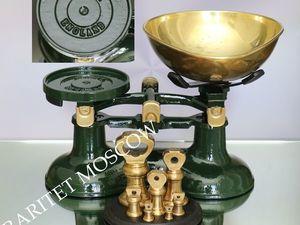Весы гири как у Высоцкой бронза латунь чугун Англия 7. Ярмарка Мастеров - ручная работа, handmade.