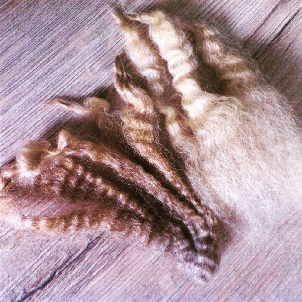 прядение шерсти