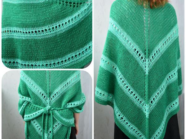 Датская шаль весеннего цвета | Ярмарка Мастеров - ручная работа, handmade