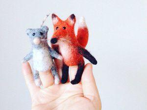 Новый МК по мини-зверям!   Ярмарка Мастеров - ручная работа, handmade