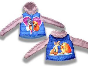 Комбинированная курточка по индивидуальному заказу | Ярмарка Мастеров - ручная работа, handmade