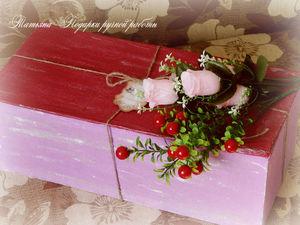 Коробочка для кукол своими руками. Ярмарка Мастеров - ручная работа, handmade.