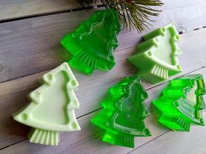 """Подарок-сувенир к заказу  — мыло """"Елочка"""" до  Нового Года!. Ярмарка Мастеров - ручная работа, handmade."""