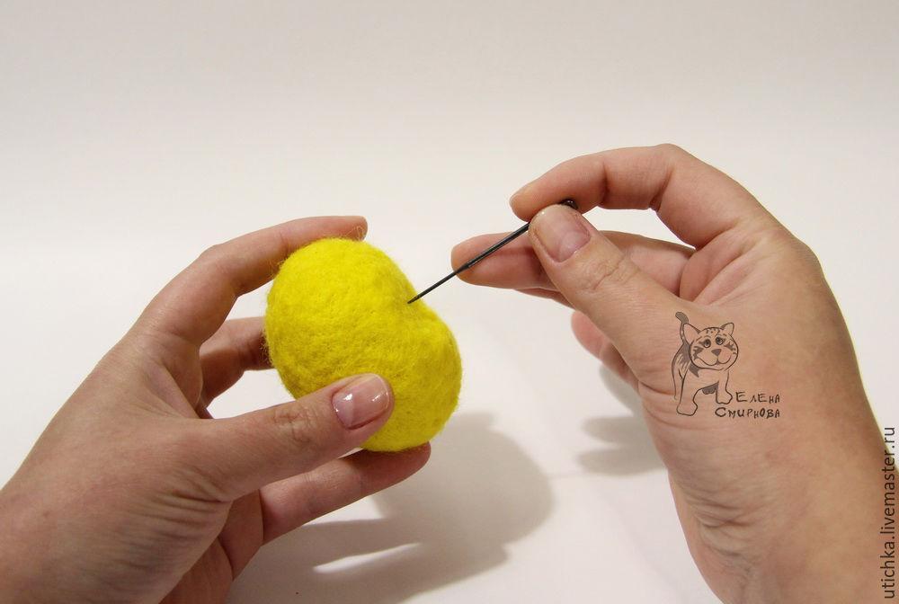 как свалять петушка