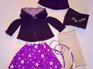 Шьем комплект одежды для куклы-большеножки. Часть 3. Ярмарка Мастеров - ручная работа, handmade.