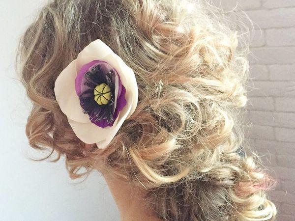 Как носить цветы в причёске | Ярмарка Мастеров - ручная работа, handmade