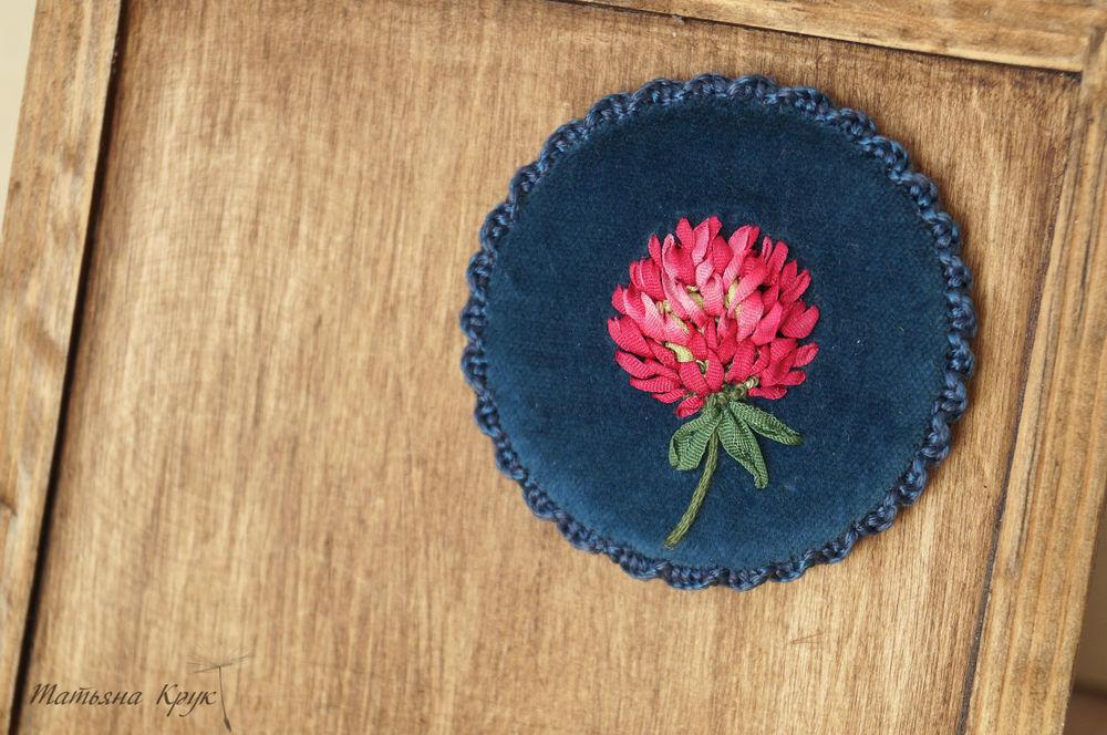 брошь цветок, цветы фоамиран