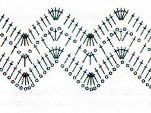Учимся вязать крючком. Урок 14. Вязание узора зигзаг. Ярмарка Мастеров - ручная работа, handmade.