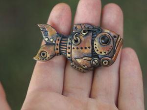 Итоги по вебинару по лепке биомеханической рыбы. Ярмарка Мастеров - ручная работа, handmade.