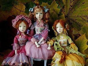Рози, Лили и Амели.. Ярмарка Мастеров - ручная работа, handmade.