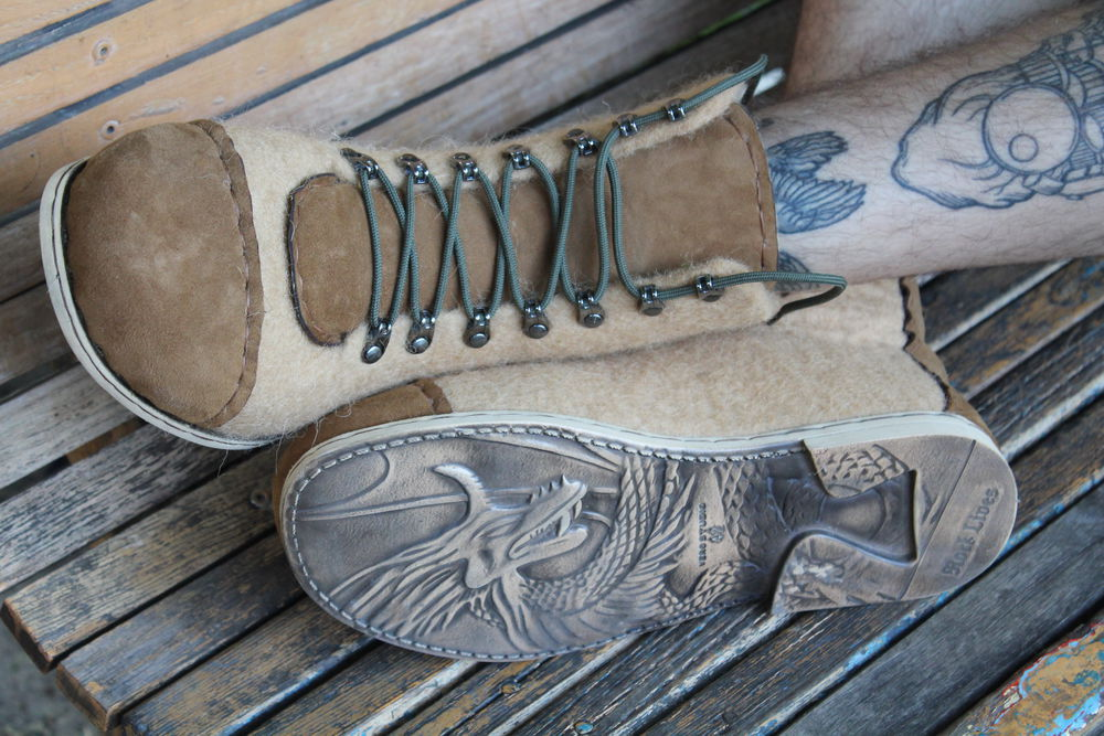 мк по валянию, мастер-класс по валянию, валяные ботинки