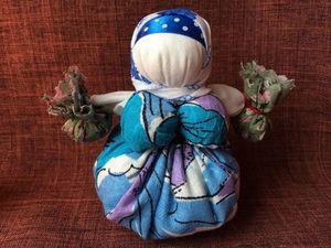 Славянская кукла оберег Кубышка Травница. Ярмарка Мастеров - ручная работа, handmade.