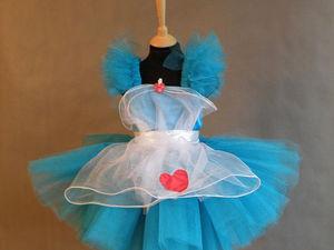 Сказочная Алиса в Cтране чудес. Шьем воздушный наряд для карнавала. Ярмарка Мастеров - ручная работа, handmade.
