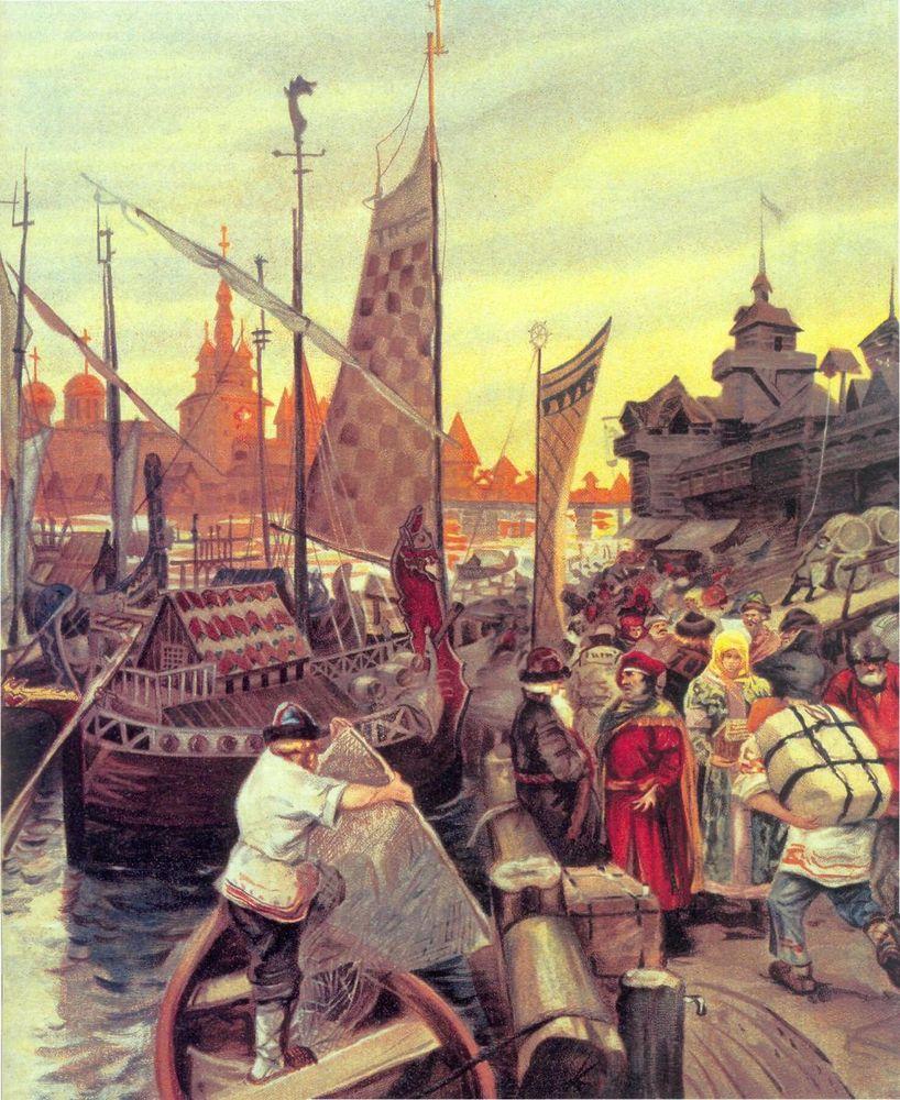 история торговли