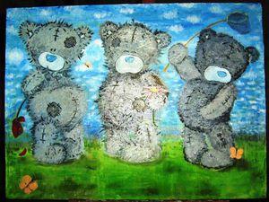 Вдохновляемся медведями: медведи на картинах современных художников | Ярмарка Мастеров - ручная работа, handmade