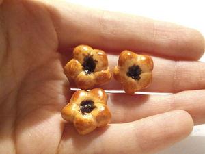 Видеоурок: создаем миниатюрные булочки с повидлом 1:6. Ярмарка Мастеров - ручная работа, handmade.