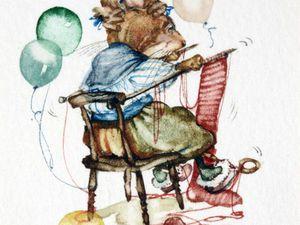 Мышиные истории в иллюстрациях Jane Pinkney: подборка из 40 акварелей. Ярмарка Мастеров - ручная работа, handmade.
