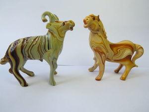 Статуэтки, керамика с глазурью. Ярмарка Мастеров - ручная работа, handmade.
