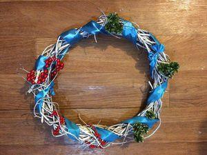 Мастерим вместе с детьми рождественский венок. Ярмарка Мастеров - ручная работа, handmade.