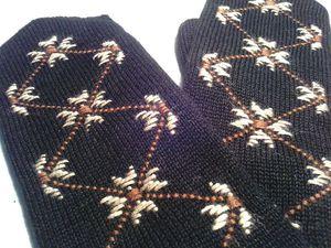 Варежки - это тепло души!... | Ярмарка Мастеров - ручная работа, handmade