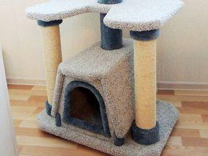 Скидка 15% на ковролиновый комплекс для кошек