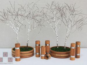 Березовые композиции для оформления ресторана «Twins Garden». Ярмарка Мастеров - ручная работа, handmade.