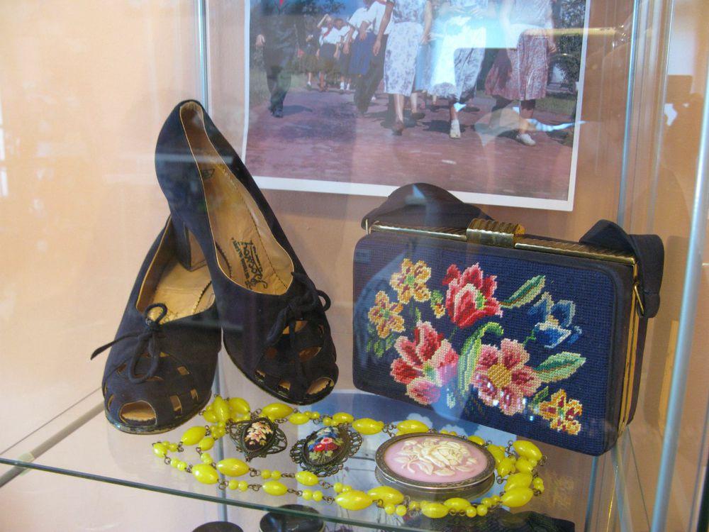 винтажные туфли, женская обувь, советская мода, историк моды
