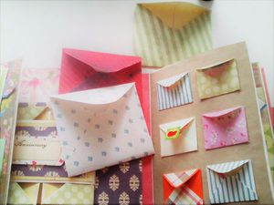 Быстро и легко делаем экспресс-конвертики из бумаги: видеоурок. Ярмарка Мастеров - ручная работа, handmade.