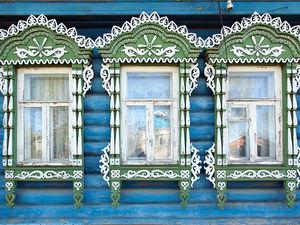 Наличники — особенное украшение деревенских домов. Ярмарка Мастеров - ручная работа, handmade.