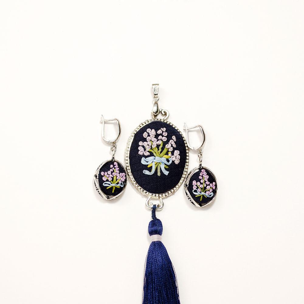 lilia iva, вышивка лентами