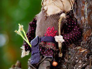 Кукла-оберег «Медведь-Охотник». Процесс создания. Ярмарка Мастеров - ручная работа, handmade.