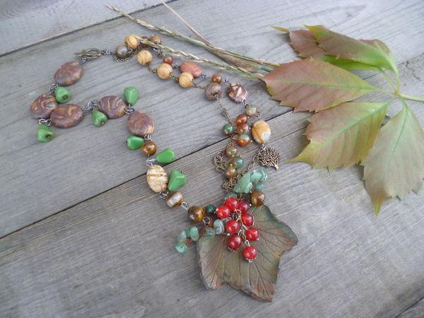 Акция Осенние листья(розыгрыш колье)   Ярмарка Мастеров - ручная работа, handmade