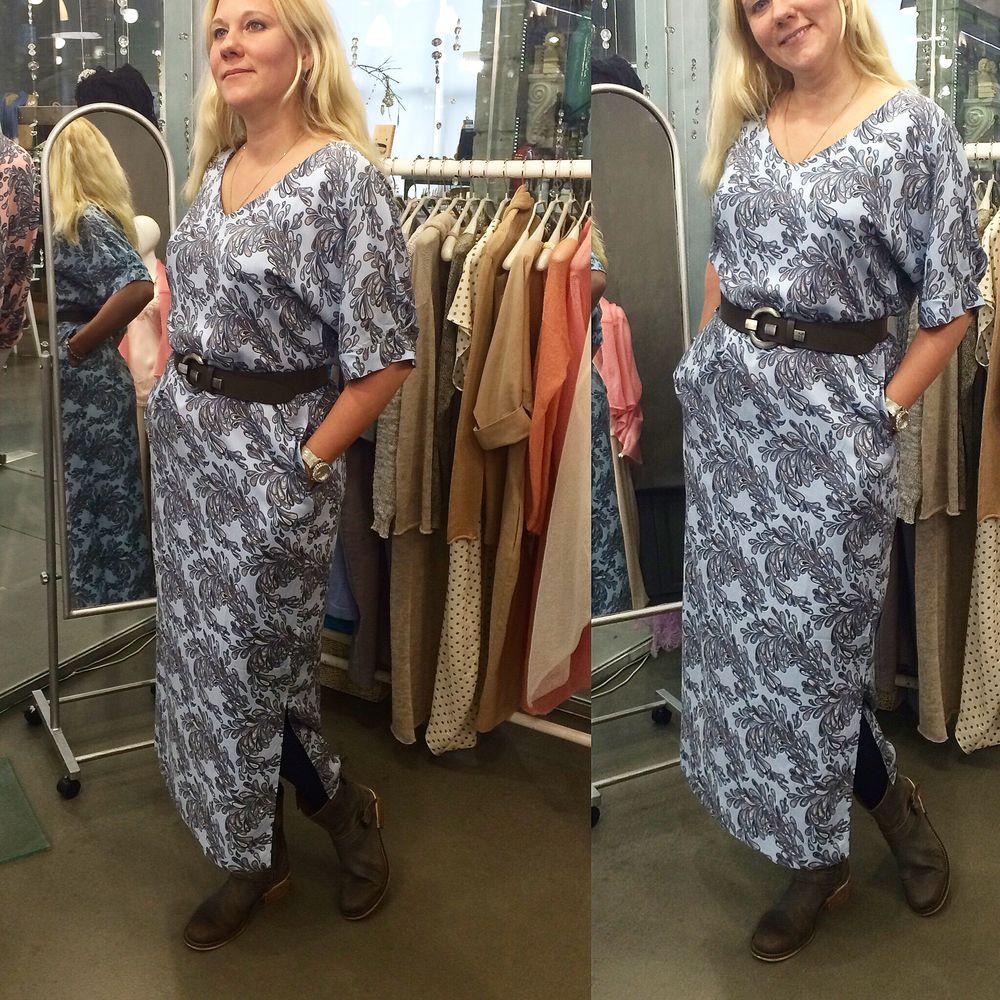 gabbi, платье туника, шитое платье