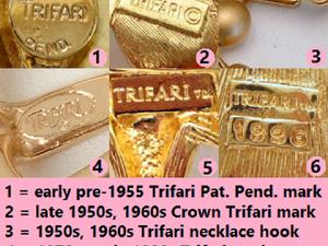 Маркировка Trifari по годам | Ярмарка Мастеров - ручная работа, handmade