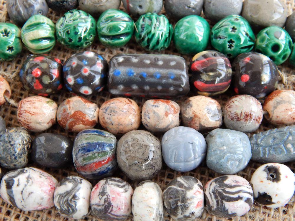 керамические бусины, товары для рукоделия, бусы своими руками