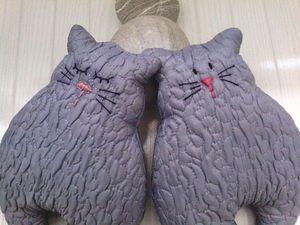 Кошка-подушка   Ярмарка Мастеров - ручная работа, handmade