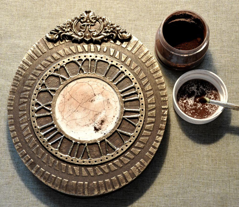 Создаем сказочные декоративные часы для большой елки, фото № 18